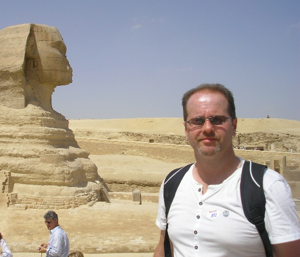 Close encounter with the Sphinx!