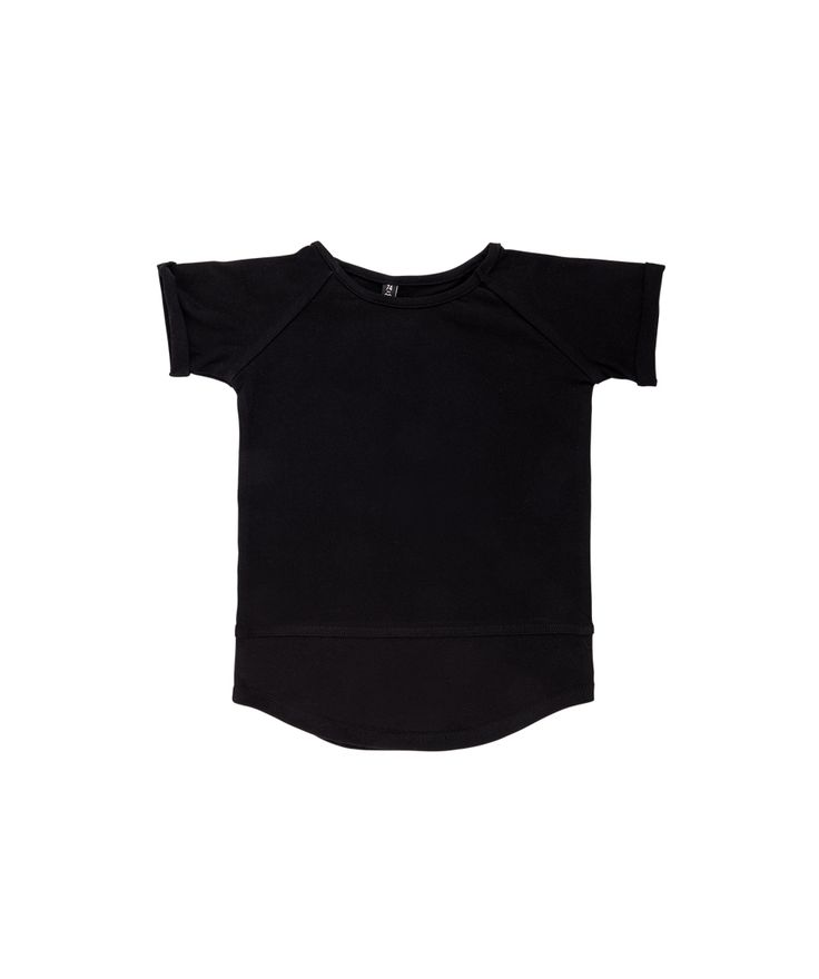 BASIC T-Shirt Solid Black