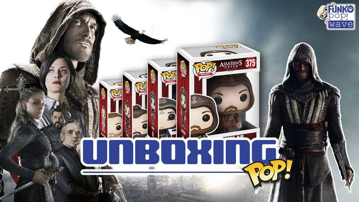 Unboxing de los Funko Pop! de Assassin's Creed (Película)
