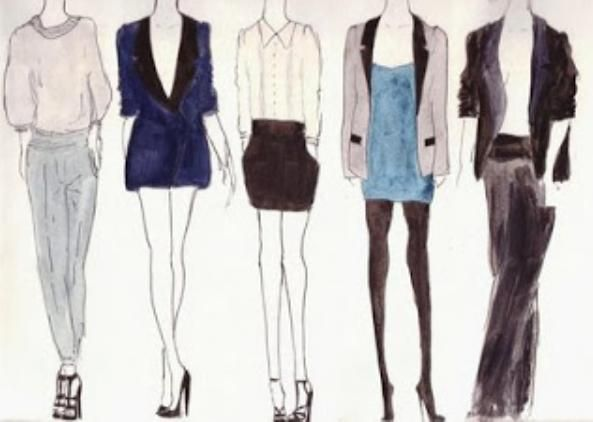 Simple Tips In Drawing Clothes Sketches Sketchs Ideas