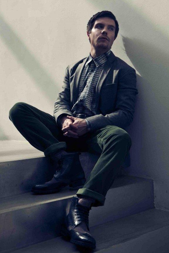 Joe Dempsie from Game of Thrones and Skins. Interview here: http://www.wonderlandmagazine.com/2012/08/joe-dempsie-murder-he-wrote/