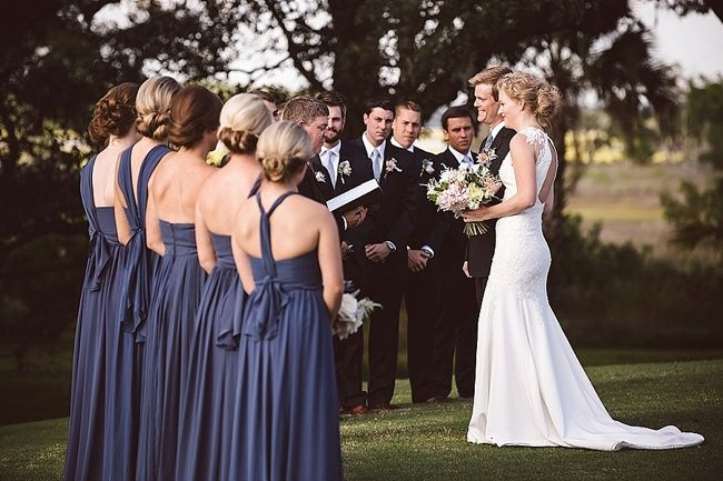 Thanks to @weddingrow for publishing this wedding we shot at @Rivercourse  on Kiawah Island!   Wedding coordination and design by jeri st germain  Her dress by @RitaVinieris  from @fleurdelisbride   Bridesmaids' dresses by @jennyyoo   Flowers by @branch-design-studio
