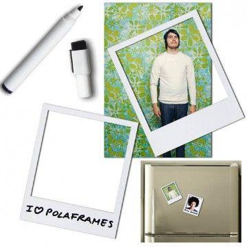 Marcos de foto imantados, tipo Polaroid