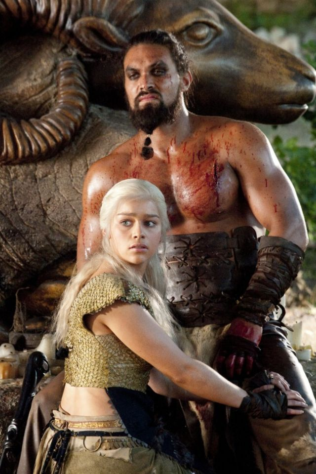 Khal Drogo: Chieftain of the Dothraki people and husband of Daenerys Targaryen  Cause of death: Smothered by Daenerys Targaryen in a mercy killing after a spell by Mirri Maz Duur leaves him in a catatonic state