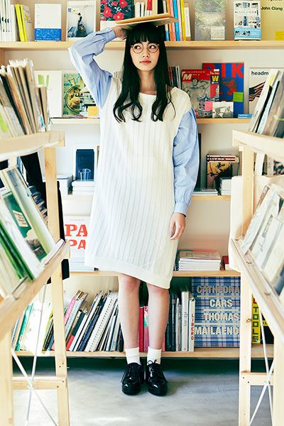 #知的女子を気取る日   7 WEEKS with NANA - haco.magazine