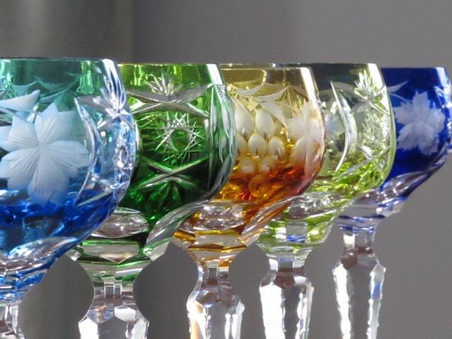 AJKA Crystal Marsala Wine Goblets - purchased in Germany