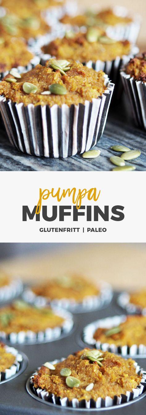 Recept: Pumpamuffins Paleo - Glutenfria och mjölkfria