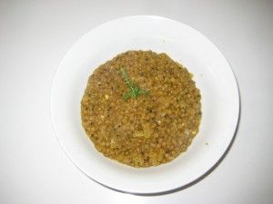 Slow Carb Lentils Spiked With Mustard | The Slow Carb Foodie