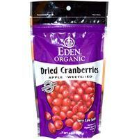 Eden Foods, Organic Dried Cranberries, 4 oz (113 g) - iHerb.com