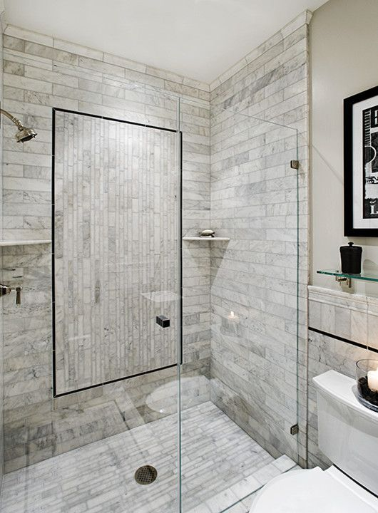 15 best shower ideas images on Pinterest | Home, Ideas for small ...