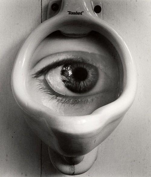 Jerry Uelsmann - Untitled (Philistine's Eye), 1961, Vintage Gelatin Silver Print