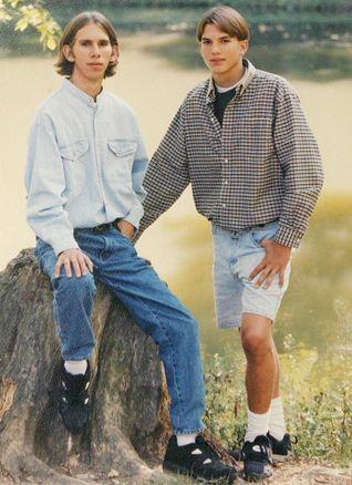 Ashton and Michael Kutcher
