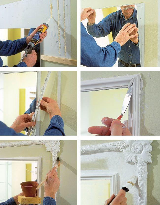17 migliori idee su decorare specchio su pinterest specchio dormitorio decorazioni del - Specchio per te ...