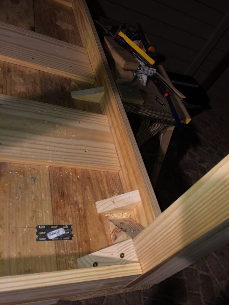 Dinning room table supports