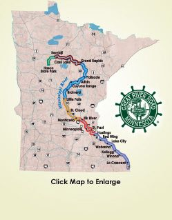 Want to learn more about the @GreatRiverRdMN? Visit them online to find maps of the six distinct sections of the byway, information about events in the region, listings of events and attractions and much more.