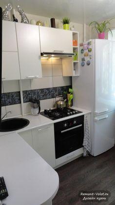 Угловая белая кухня 5 кв.м: планировка и дизайн (6 фото)