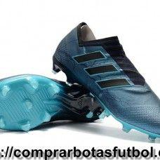Compras Botas De Futbol Adidas Nemeziz 17+ 360 Agility FG Azul Oscuro Negro