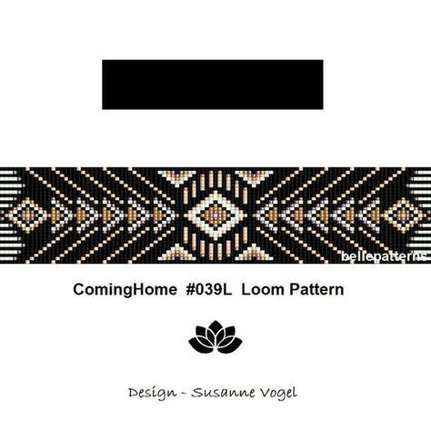 loom bracelet patternPDF-Download 039L bracelet pattern