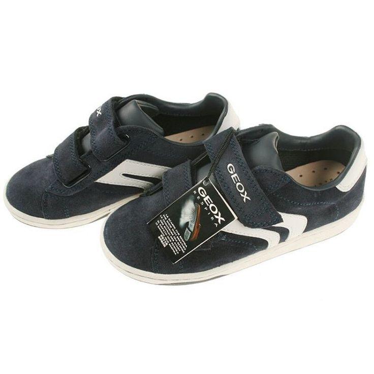 GEOX jongens schoenen Malvin #trendykleertjes #geox #jongensschoenen  #malvin #navywithwhite