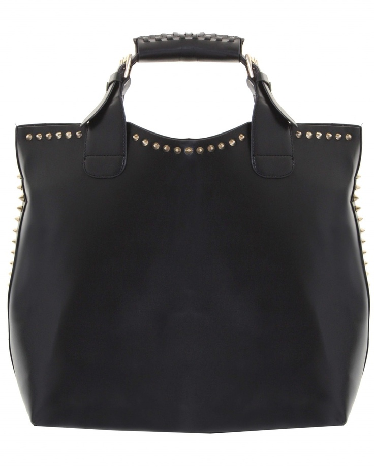 ILWF BLACK STUDDED BUCKET BAG    Price: £30.00