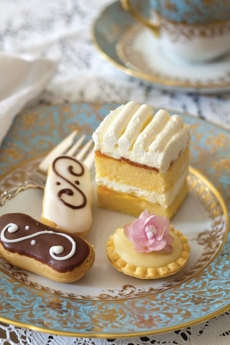 Indulge sugar cravings with a sweet selection of miniature desserts…