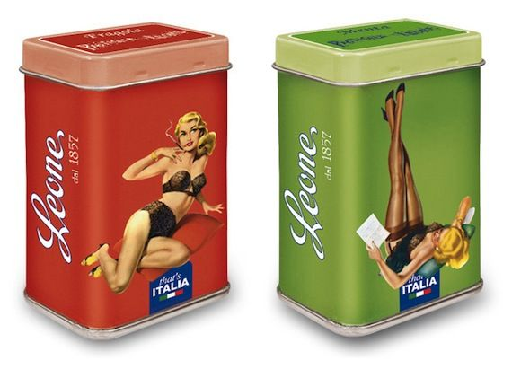pastiglie leone packaging design 2