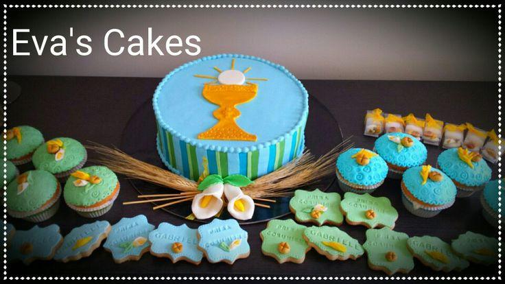 Torta biscotti muffin comunione
