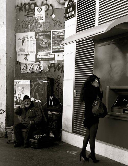 Natcha Crea - Paiement refusé  #chocurbain #concours #photo #contraste