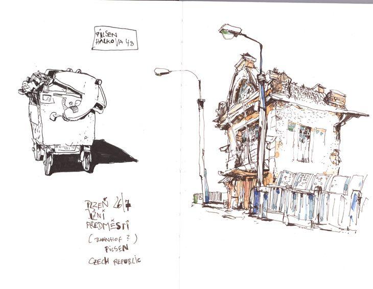 Felix Scheinberger, Illustrator - Skizzen: Skizzen 2009