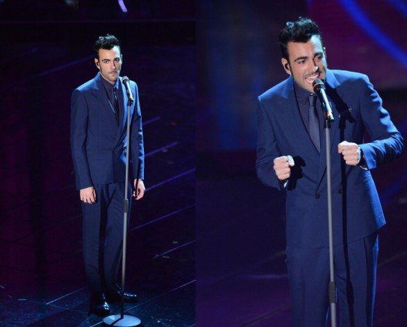 A Sanremo 2013 Marco Mengoni veste lo stile di Salvatore Ferragamo