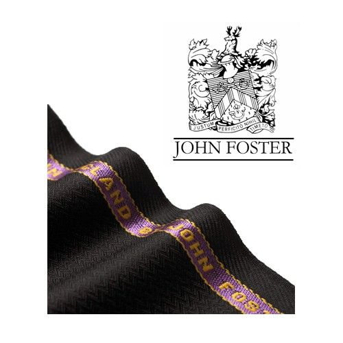 NELSON WADE-Custom Suit-John Foster Super 120s Fabric, Black Brown Herringbone