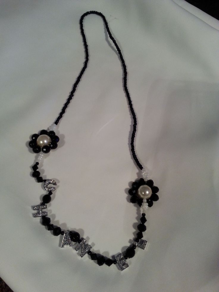 My other Chanel necklace  - black