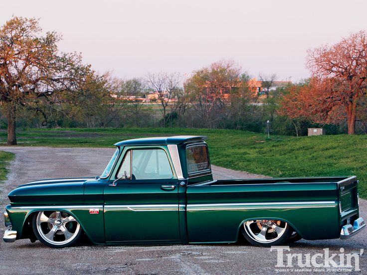 View this 1966 Chevy C10 Passenger Front Photo 1. This double-edged sword 1966 Chevy C10 belonging to Jason Chandler gets driven hard only day, only on truckinweb.com, the official website for Truckin' Magazine