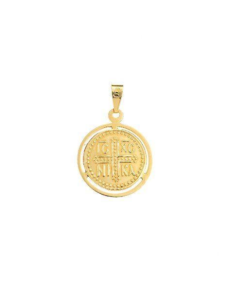 Κωνσταντινάτο Χρυσό 14Κ Αναφορά 004907 Φυλακτό κατασκευασμένο από Χρυσό 14Κ σε κίτρινο χρώμα.Το φυλακτό μας μπορει να συνδυαστεί με αλυσίδα Χρυσή 14Κ.