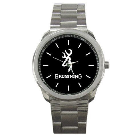 2014 browning logo sport metal watch hot by dodoljam on Etsy, $13.99