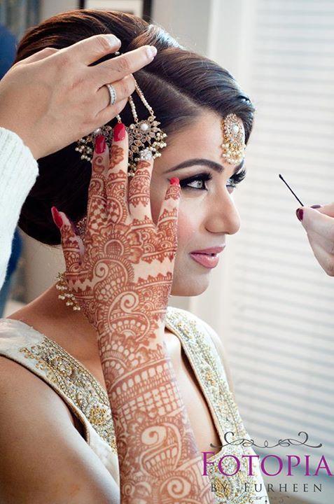 Make up by Pink Orchid Studio Fotopia by Furheen (Desi Bridal Shaadi Indian Pakistani Wedding)