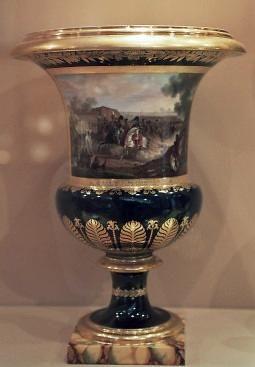Vase en porcelaine de Berlin