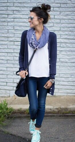 Scarf outfit
