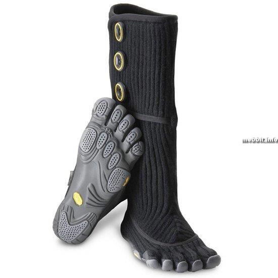 Ботинки с пальчиками