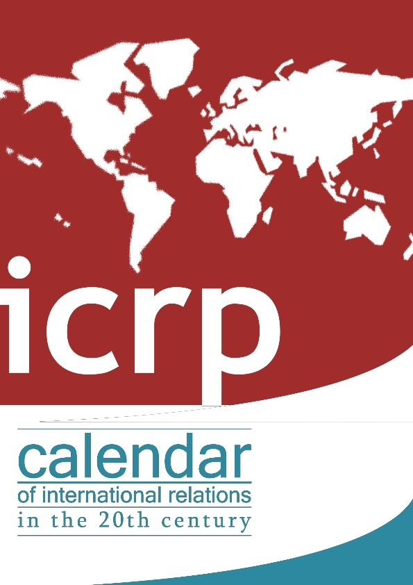 ICRP's Calendars of international relations in the 18-19-20th centuries