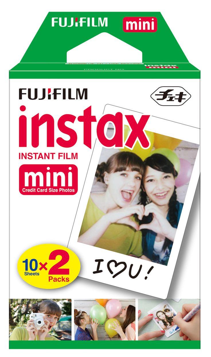 Instax mini film white 10 sheets x 2 packs
