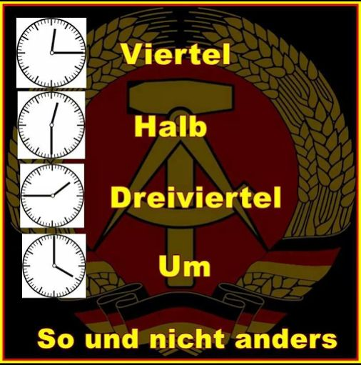 Die DDR Community – Community – Google+, So läuft dat ! DA BRAUCHT MAN NOCH NICHT MAL ABITUR