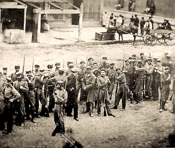 Civil War - 7th New York -awesome rare image