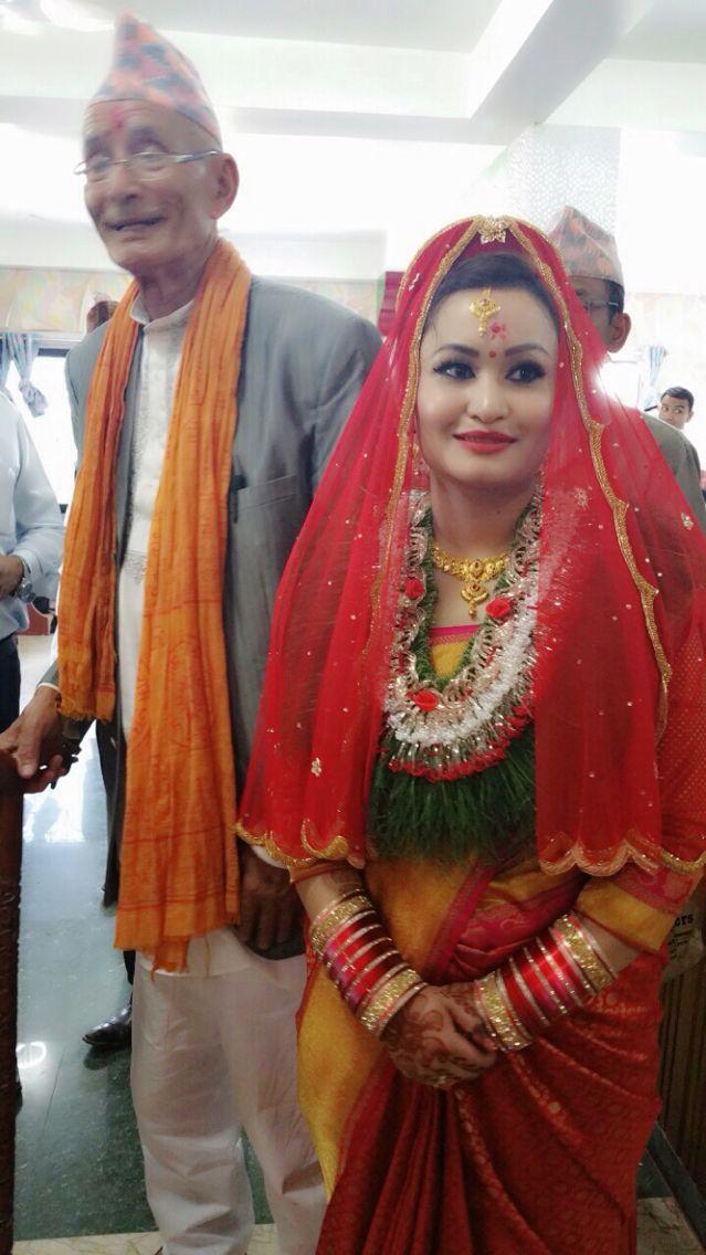 #nepalese #bride #kanchipuram