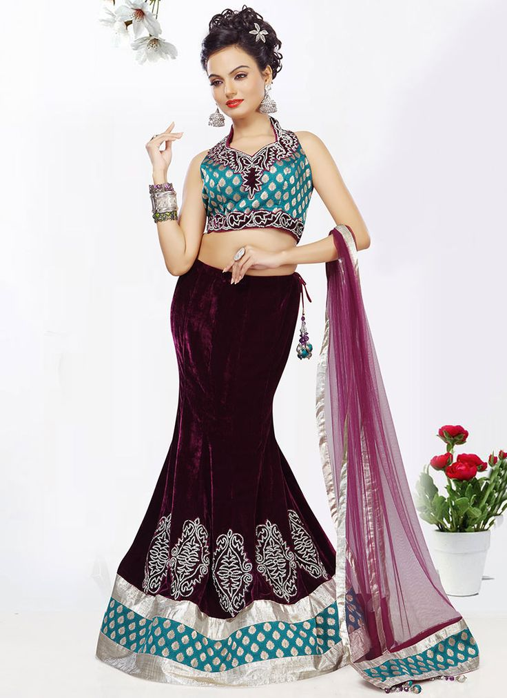 how to stitch fish cut lehenga