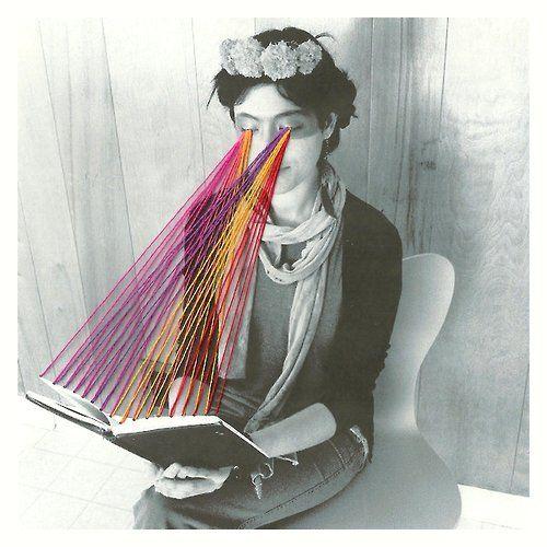 artchipel:  Mana Morimoto   on Tumblr - Megan Is Reading Rainbow [Art Writer's Wednesday with Artchipel]