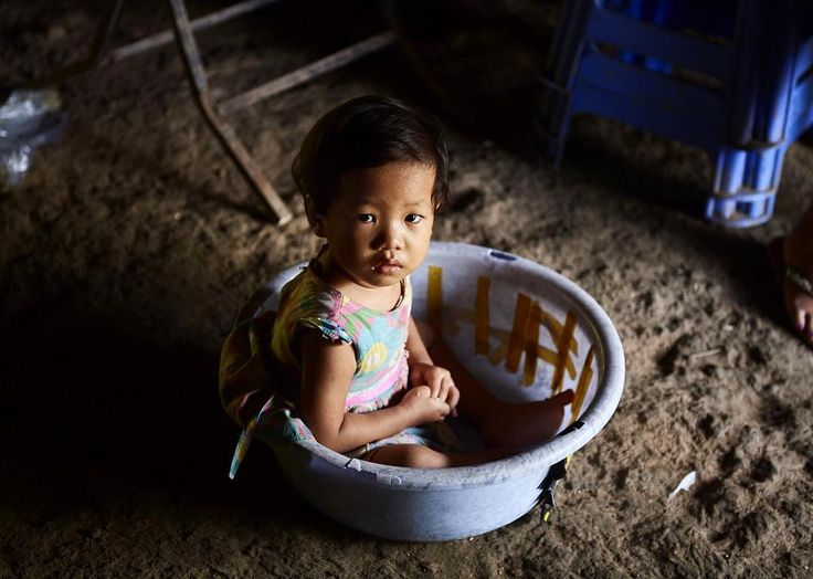 """In Myanmar there are camps set up for the Burmese refugees that are being forced out of their own villages. The camps are called IDP camps """"Internally Displaced People"""" These camps have hundreds of people living in them. This image is one of the children we met during @extendtheday visit to the camps north of Myitkyina Myanmar.  Check out @extendtheday page to get involved. #MammothStudio #Hiddenatlas #ExtendTheDay #ETDbangladesh #Myanmar #Genocide #Education #NatGeo #NationalGeographic…"""
