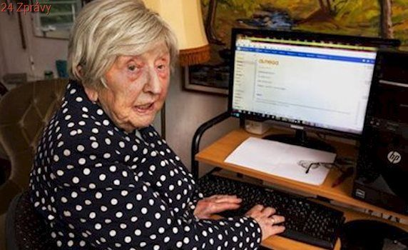 Nejstarší blogerka: Je jí 104 let a chlapa hledá na internetu