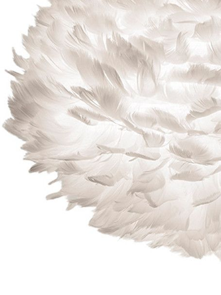 VITA EOS Mini White Shade Feather detail #illuminazione #design #GiussaniCasa