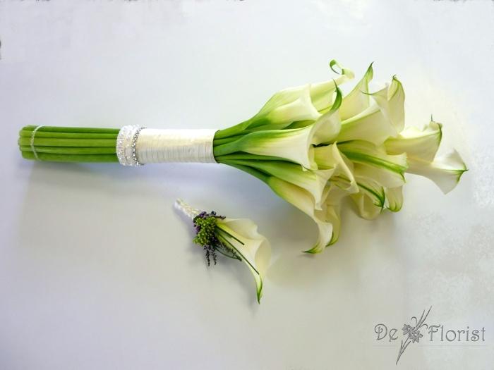 Wiązanka z kalii / bouquet of calla